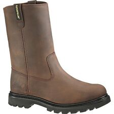 New Mens Brown Revolver Leather Work Boot CATERPILLAR P72191 Size 7-14 (D, M)