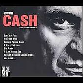 Johnny Cash LIVE RECORDINGS - 2 Disc CD NEW SEALED!! Ring of Fire Walk the Line