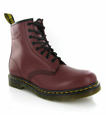 Mens Dr Martens 1460 Smooth Cherry Leather 8 Eye Ankle Unisex Boots Size 3-13