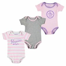 Penguin Kids Baby Girls 112 Three Piece Set Romper Bodysuits Jumpsuits Playsuit