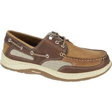 Mens Sebago Taupe Brown Leather Clovehitch II Boat Shoes B24351 Size 9-15 (C, B)