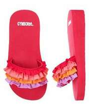 NWT Gymboree Girls Thick Ruffle Sandals Flip Flops Size Baby 05-6 Youth 9-10