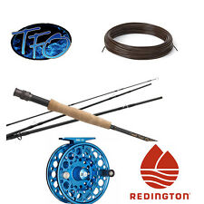 TFO Pro Series II 4-Piece Fly Rod & Redington Rise Reel II Combo for 6 Weight
