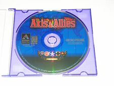 Rare PC CD ROM Video Game Axis & Allies 1 Hasbro 1998 Windows War Strategy