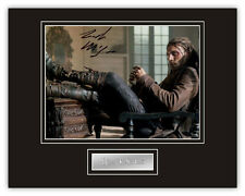 Sale! Black Sails Zach McGowan (Captain Charles Vane) Signed 14x11 Display