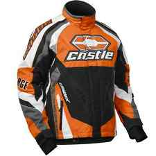 Castle X™ Men's Charge G2C Insulated Snowmobile Winter Jacket - Orange - 70-946_