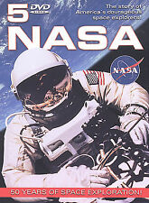 NASA: Fifty Years of Space Exploration 2003 5 dvd set