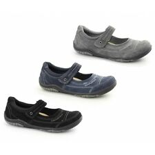 Earth Spirit LAWTON Ladies Nubuck Leather Comfort Touch Fasten Mary Jane Shoes