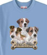 Big Dog T Shirt - Jack Russell Dog Bone 5 Colors # 899 Men Women Adopt Rescue