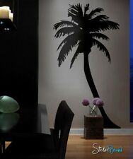 Vinyl Wall Decal Sticker Large Palm Tree 8 ft tall