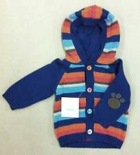 NWT Gymboree Baby Boy Striped Hooded Cardigan Size 3-6 Months
