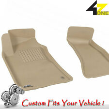 3D Fits 2008-2014 Dodge Challenger G3AC65232 Tan Waterproof Front Car Parts For