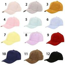 Fashion Snapback Hats Hip-Hop adjustable bboy Baseball Cap Hat Solid Color Cap