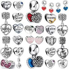 New Design Fashion Letter Bead 925 Silver Charms Fit 3mm Handmade Bracelet Chain