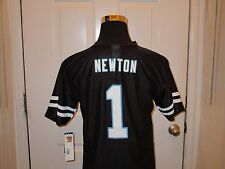 Brand New with Tags Carolina Panthers Cam Newton #1 Black Youth Mesh Jersey