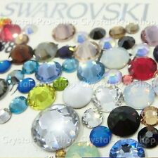 144 Genuine Swarovski Hotfix Iron On 12ss Rhinestone Crystal 3.2mm ss12 Distinct