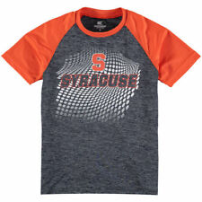 Syracuse Orange Colosseum Youth Ryder Raglan T-Shirt - Navy/Orange - NCAA