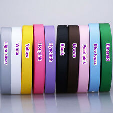 "5/50/100yards 5/8"" 16mm solid grosgrain ribbon wrap hairbow lot ribbon CA"