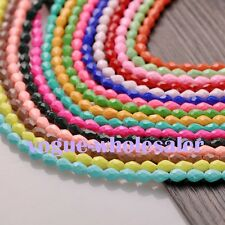 10/20pcs 10mm Glass Crystal Teardrop Faceted Beads Loose Spacers Jewelry Gifts