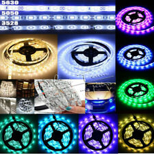 5M LED Flexible Strip Light 3528/3014/5050/5630 SMD Non-Waterproof 12V XMAS Lamp