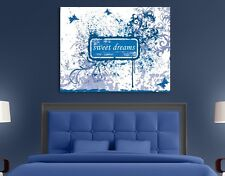 Canvas Art Your Own Words no.4 blue