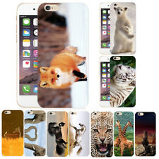 Funny Animals Pattern Hard Phone Case Cover Protector Skins For iPhone 5/6S Plus