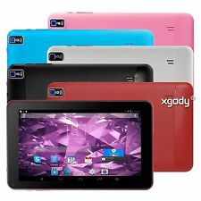 "XGODY 9"" Tablet PC Android KitKat 8GB Quad Core Dual Camera Wifi Capacitive Pad"