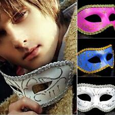 Masquerade Chic Paint Masks Halloween Carnival Half Face Fancy Ball Party Mask