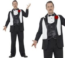 Curves Gangster Costume Mens Mafia Gangsters Fancy Dress Outfit L-XXL