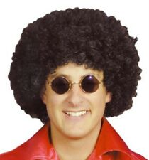 Adult Unisex Mens Ladies Curly Afro Wig for 70s 80s Disco Fancy Dress Accessory
