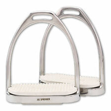 Herm Sprenger Fillis Stirrup Irons - Steel w/Pads - All Sizes in Stock