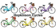 700c Ladies Traditional Vintage Dutch Style Bicycle Bike City Town & Country NEW