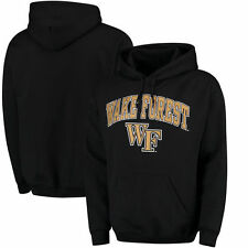 Wake Forest Demon Deacons Campus Pullover Hoodie - Black - College