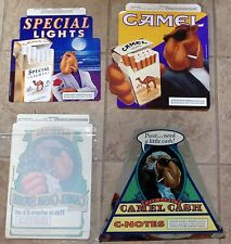 """Camel Joe """"Camel Cash"""" or """"Special Lights"""" Promotional Store Decals - Brand New"""