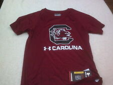 NWT Under Armour Heat Gear short sleeve T, loose fit, youth M, L, South Carolina