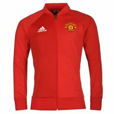*ADIDAS - MANCHESTER UNITED ANTHEM JACKET RED = SIZE ALL ADULTS
