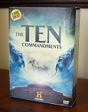The Ten Commandments 3 x DVD Box Set By The History Channel