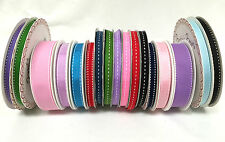 CRAFT SADDLE STITCH RIBBON CENTRE STITCH RIBBONS GIFT WRAPPING - 3 , 5 METRES