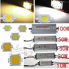 High Power 10W 20W 30W 50W 100W Waterproof LED Driver Supply OR SMD LED Bulb