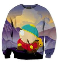 New Fashion Mens/Womens South Park beautiful Funny 3D Print Sweatshirt QQ16