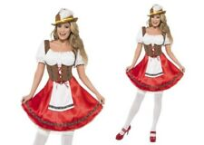 Beer Wench Costume Oktoberfest Festival Ladies Fancy Dress Outfit
