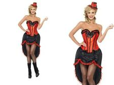 Burlesque Dancer Costume Ladies Spanish Show Dancer Fancy Dress S-L
