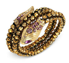 NWT Betsey Johnson Jewelry Luminous Crystal Snake Coil Bracelet Betsey Johns