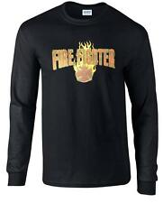 Fireman Fire Rescue Volunteer Firefighter Long Sleeve T-Shirt