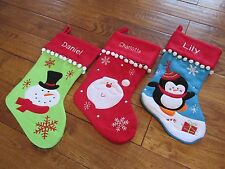 Personalised Deluxe Xmas Stocking (any name) - Free UK 1st class postage
