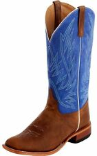 Anderson Bean Western Boots Boys Cowboy Kids Square Toe Honey K2003