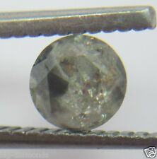 0.57CTS NATURAL CHAMPAGNE ROUND BEAUTIFUL SOLITAIRE DIAMOND 4.97-4.99x3.40 MM