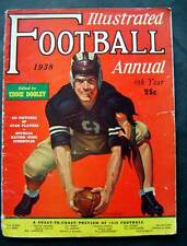 1938 Illustrated Football Annual Magazine All-America Preview 9th Year