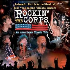 Rockin' the Corps by Various Artists (CD+ DVD, 2005, Image Entertainment) KISS