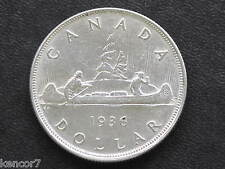 1936 Canada Silver Dollar George V Canadian Coin D3772